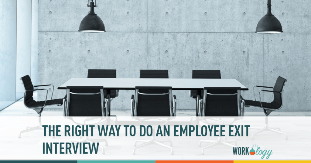 the right way to give an employee exit interview