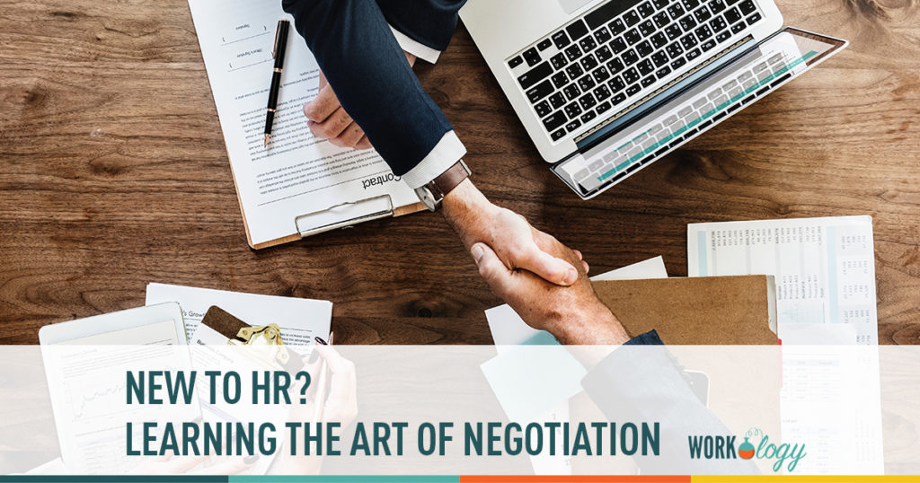 new to hr? learning the art of negotiation