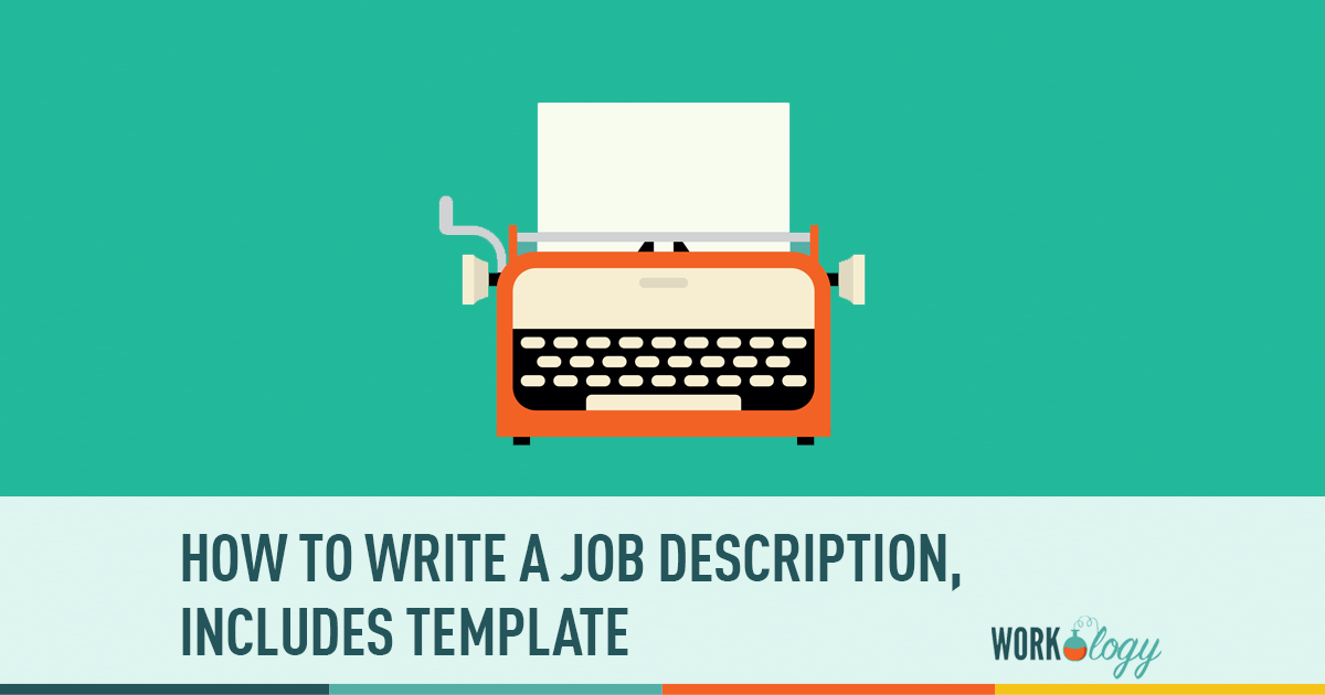 job decription template example,