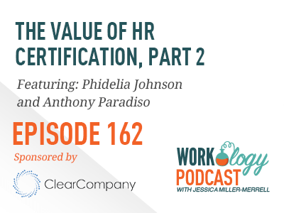 the value of hr certification, part 2