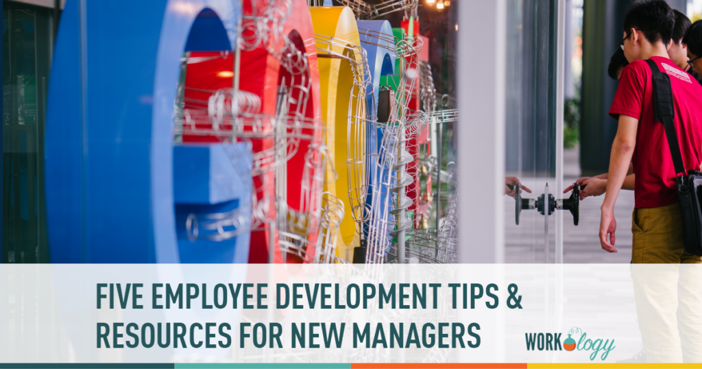 new manager employee development tips resources
