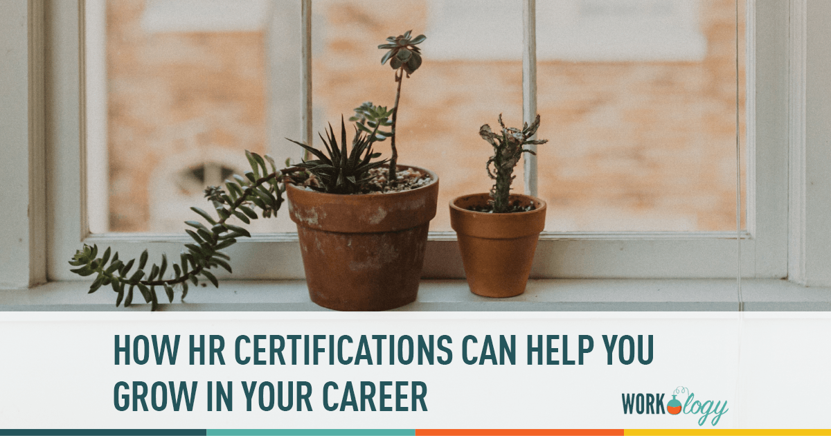 HR certifications career growth