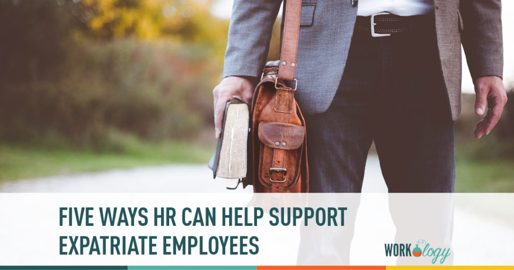Accepting an expatriate assignment can be overwhelming, so the most important thing that HR can do to support these employees is communicating information.