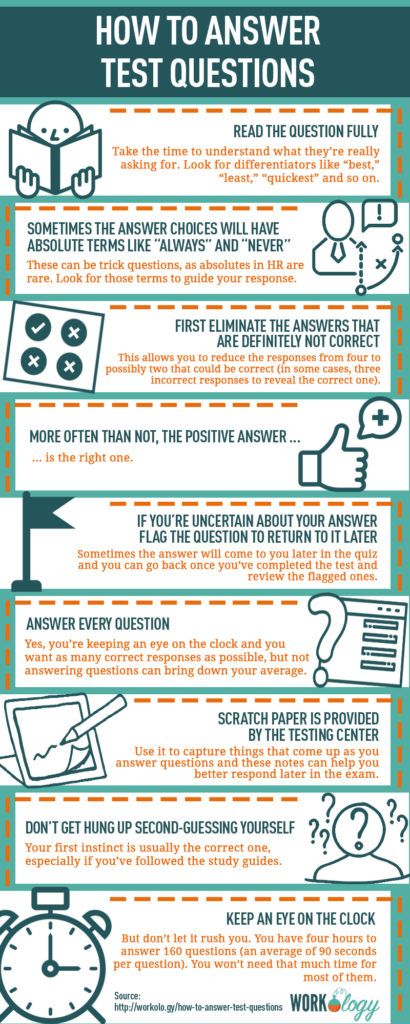 How to answer HR certification exam questions